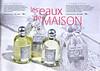 FRAGONARD home fragrances (Eau d'Oreiller - Chambre d'Amis) 2010 France 'Les Eaux de Maison'