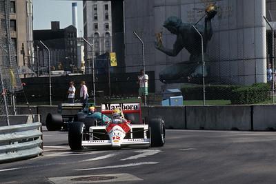 F1 Detroit 1988