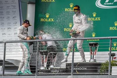 Formula 1 - US Grand Prix - Day 3 -161023