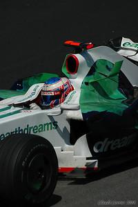 grand prix montréal 2008 6 voiture sale à la fin de la course