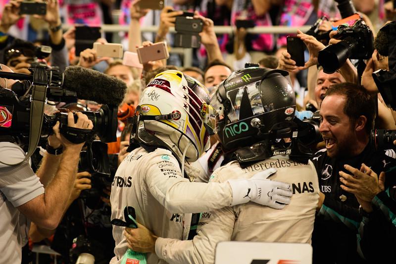 Champions Hug!