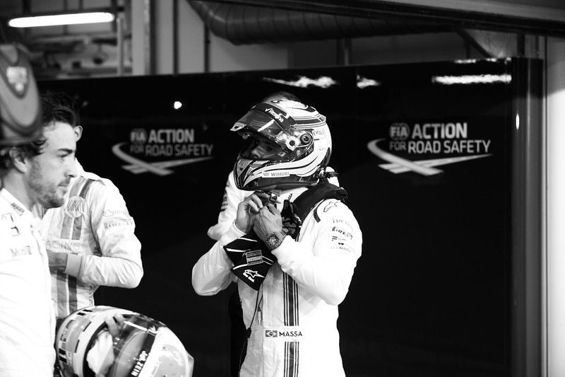 Last weight check for Massa