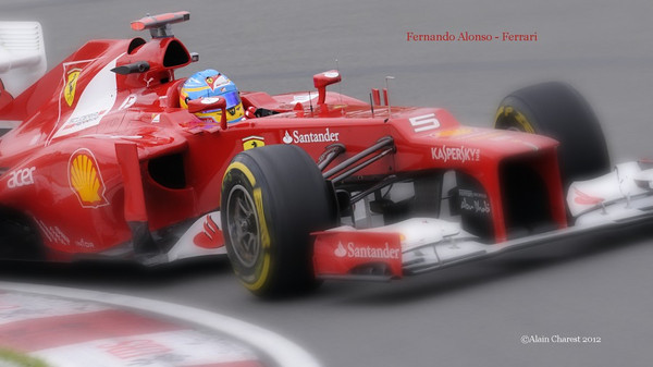 Fernando Alonso, Montreal, 2012