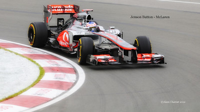 Jenson Button, Montreal, 2012
