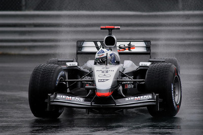 Montreal Grand Prix, Montreal, Qc, Canada, 2003: David Coulthard, McLaren-Mercedez