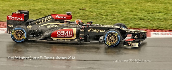 Kimi Räikkönen Montréal 2013