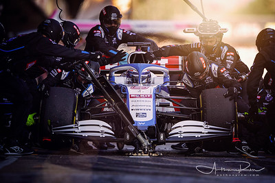 Williams Racing, Pitstop