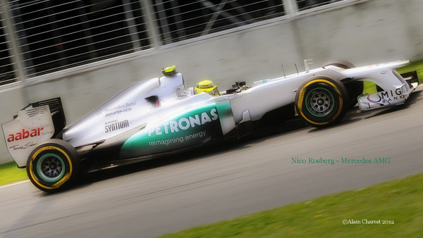 Nico Rosberg, Montreal, 2012