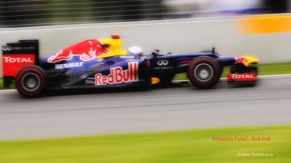 Sebastian Vettel, Montreal, 2012