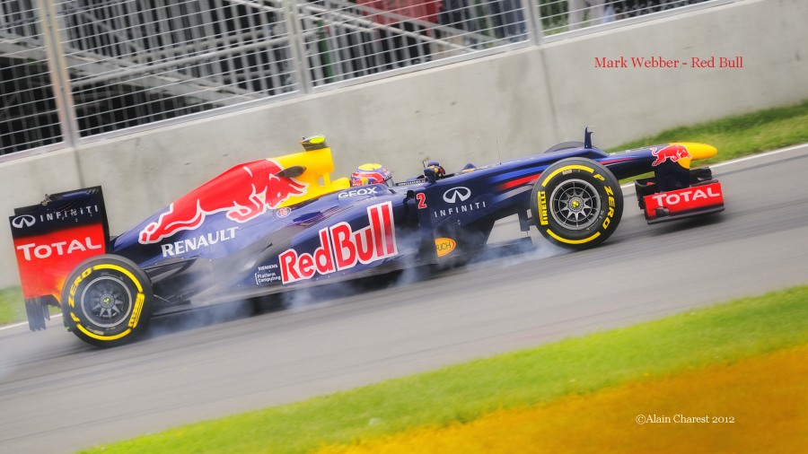 Mark Webber, Montreal, 2012