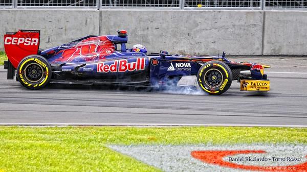 Daniel Ricciardo, Montreal, 2012