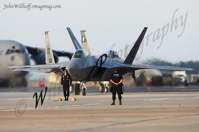 F-22 Raptor Demo!