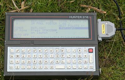Veteran Husky Hunter runs DOS, interfaces with Jon's black box timer.