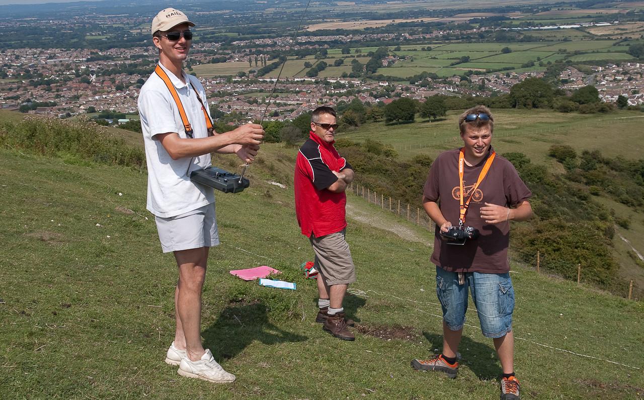 Gary Harrison, John Phillips and Graham Reed