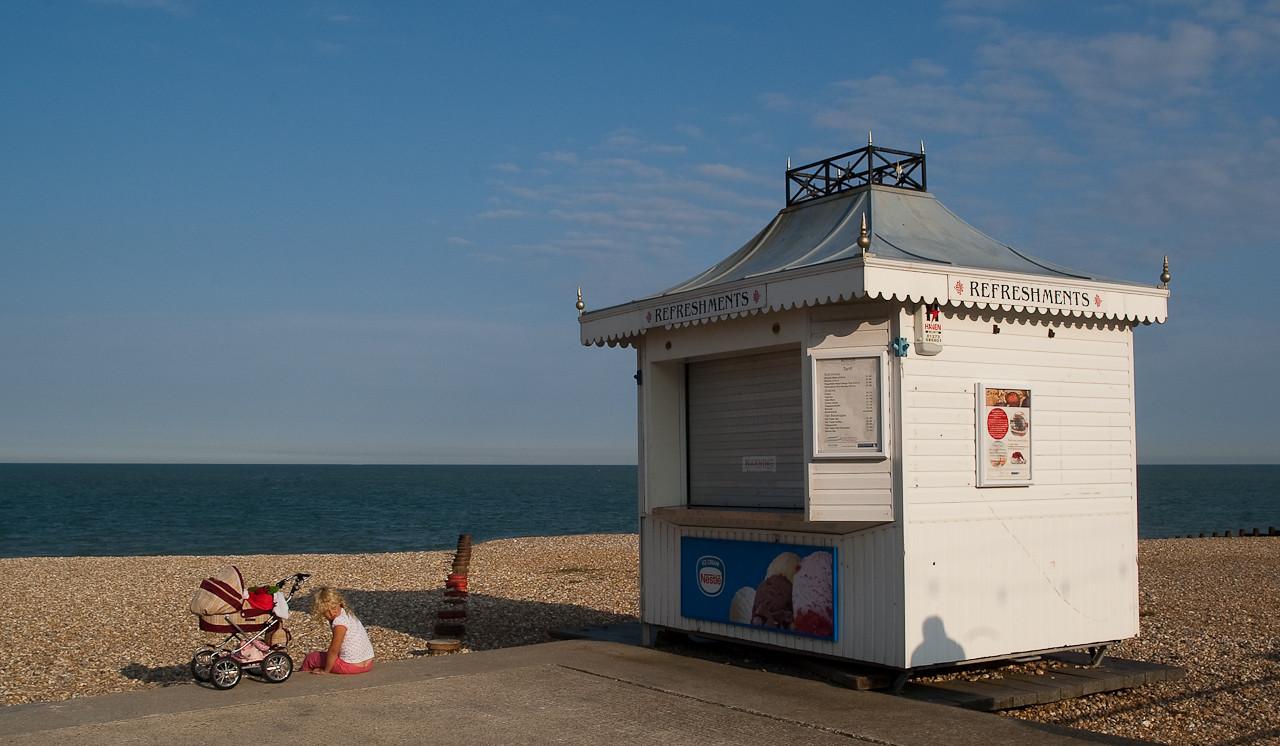 Refreshment hut