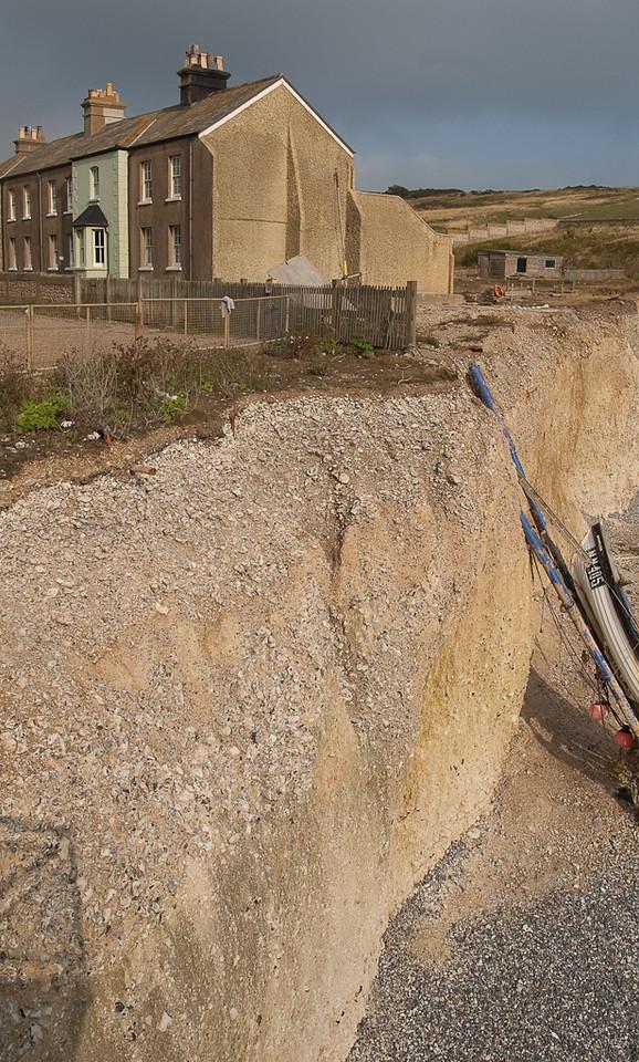 Erosion along Birling Gap