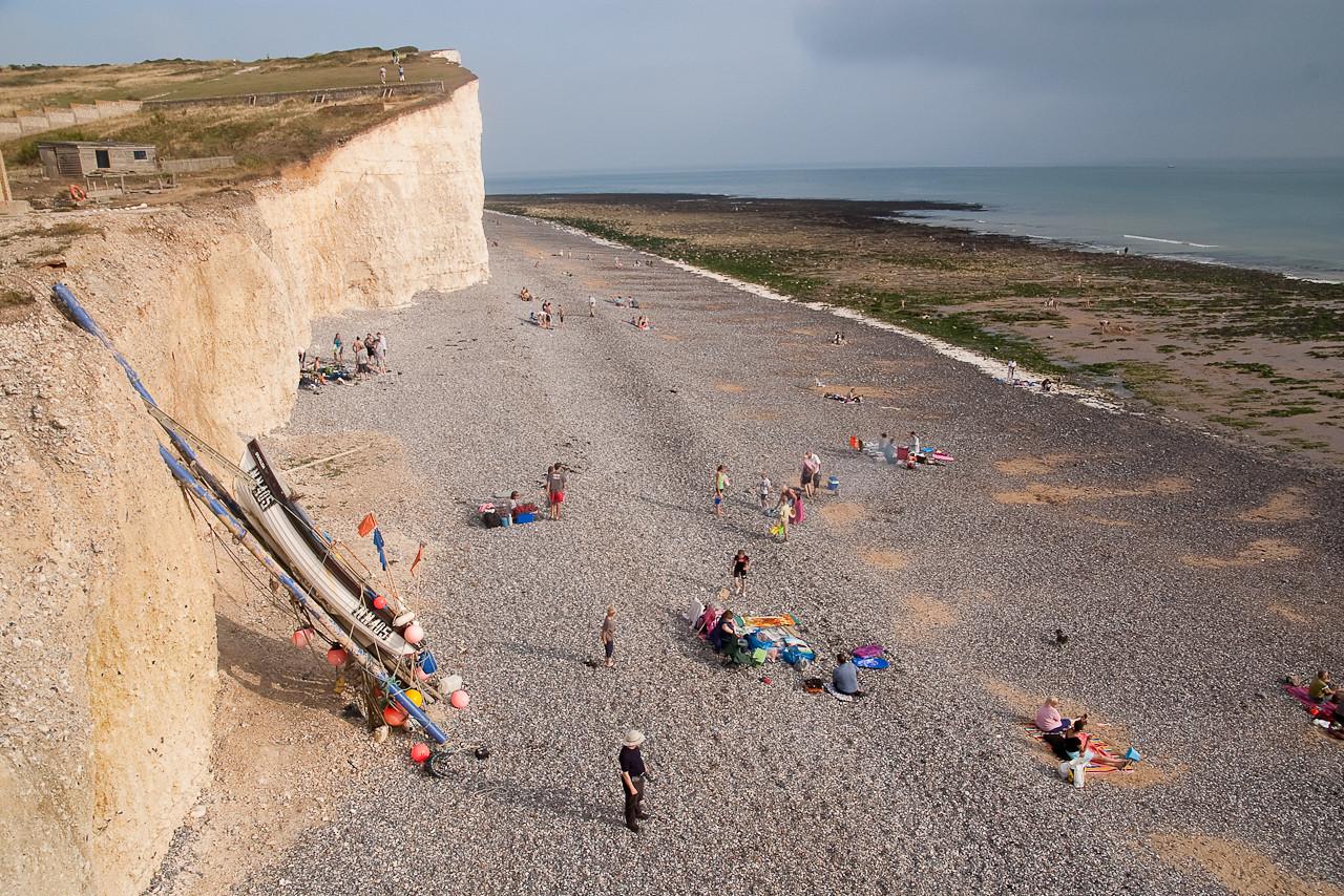 Beach at Birling gap