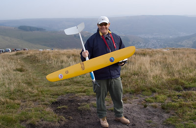 John Sage with E-Mini Ellipse. Motor came in handy!