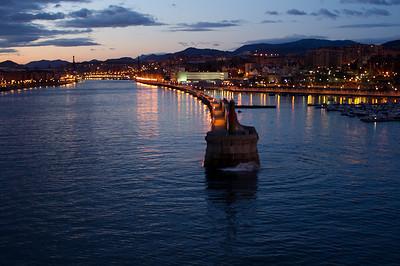 Approaching Bilbao