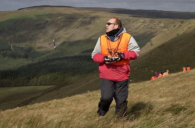 Day 1: Ian Mason starts landing approach
