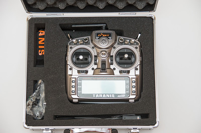 Taranis arrives in ali box with accessories