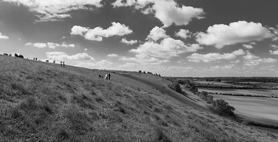 Looking SW along the ridge