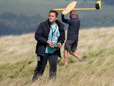 Matt How plots his landing