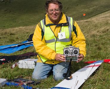 Neil with Taranis transmitter