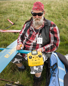 Roger Hilman with gorgeous Multiplex Royal SX. It was his first comp, flew his Caldera nicely