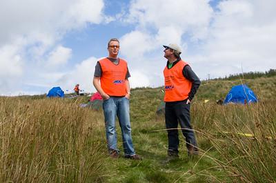 Martin Drewett and Graeme Mahoney