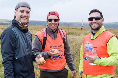 Nuestros amigos desde España: Lázaro Martinez, Jorge Medina and Iñigo Herrera
