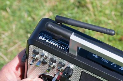 Mike uses external M-LINK RF module