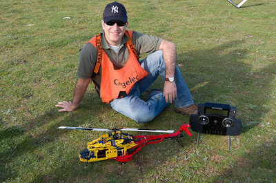 Alvaro with Lego chopper and Multiplex Profi