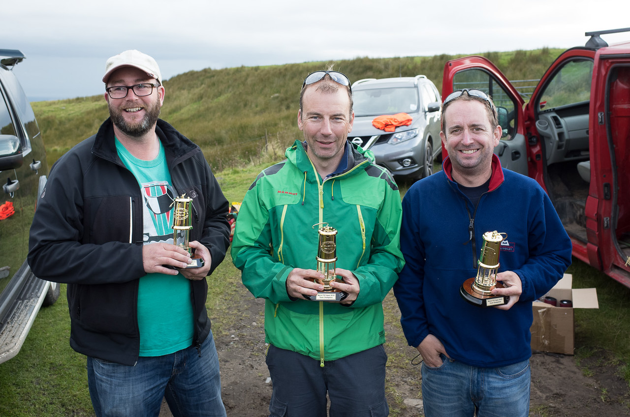 Winning team - Peter Gunning, Stefan Bertschi, Joel West