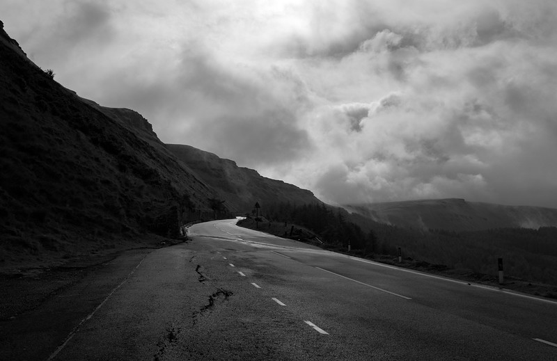 On the way to the Bwlch