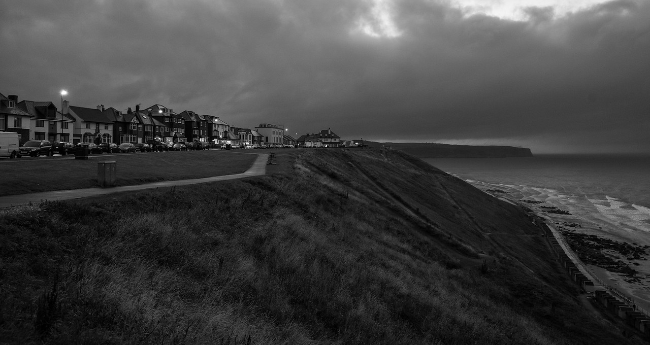 West Cliff at dusk - THE END