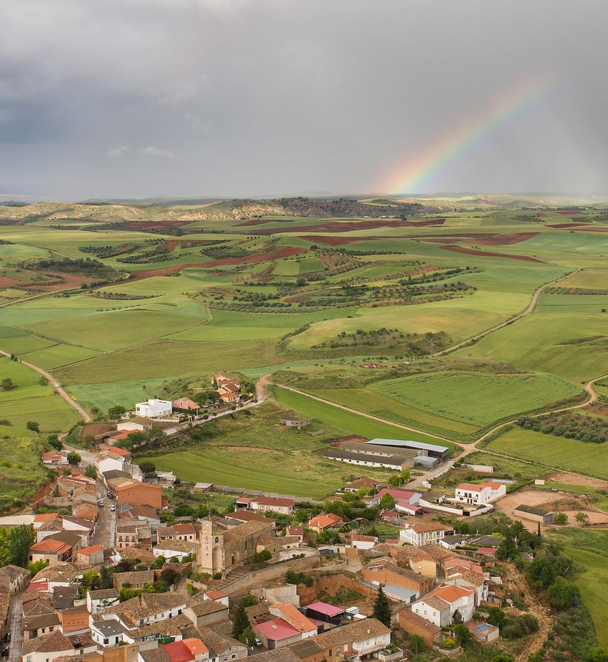 Rainbow over Alarilla