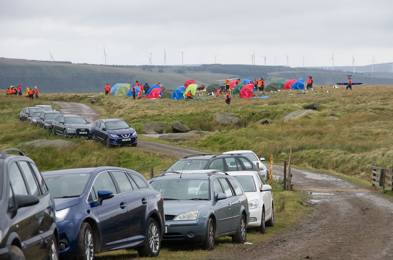 Cars and shelters on Mickys. Those turbines have been proliferating at an alarming rate.