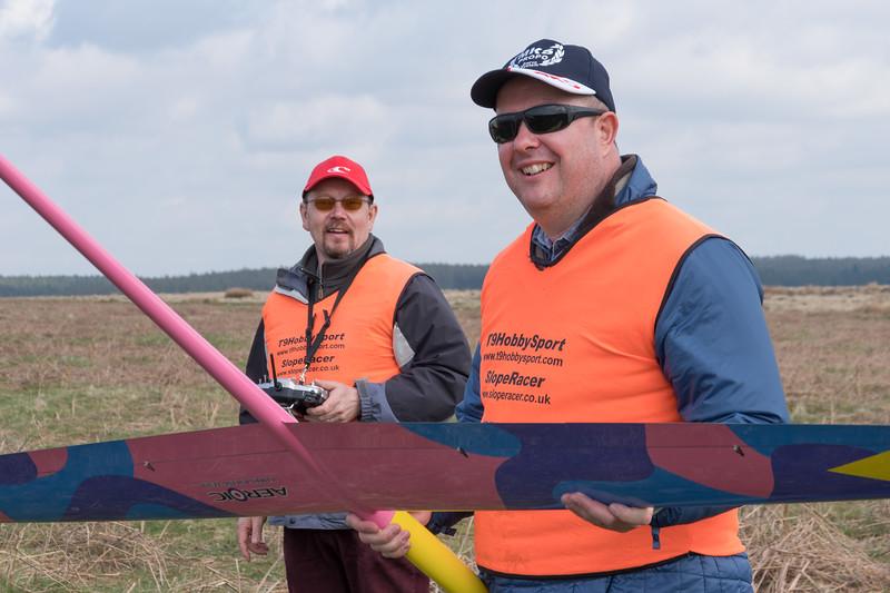 Steve holds Mark P's Redshift