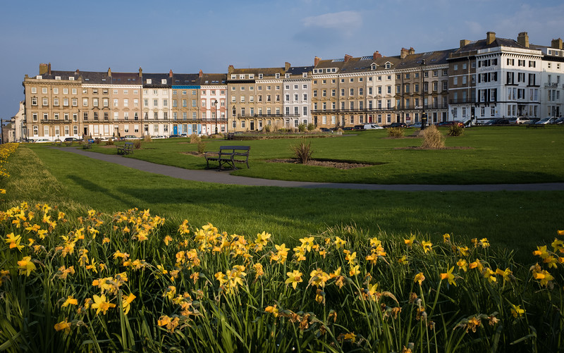 AFTER HOURS: Royal Crescent, Whitby