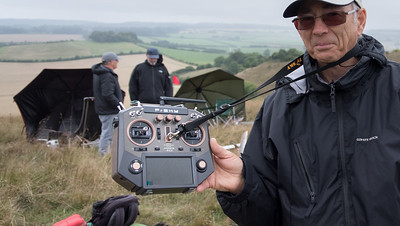 Keith Wood with his new FrSky X10S transmitter running OpenTx. Nice!