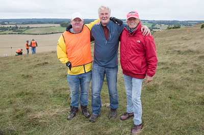 Andy, Paul Stubley, and Vic. Paul was leader at the end of Day One