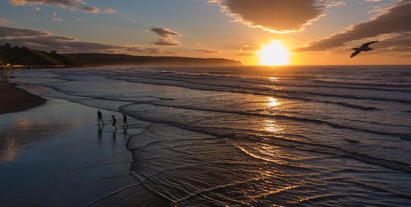 Sunset (looking towards Westcliff)