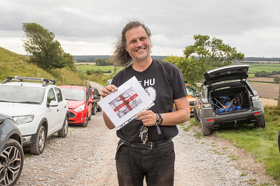 A delighted Graham Hill with 'Best of the Rest' award. What a great idea!