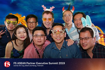 F5 Asean Partner Executive Summit 2019 @ Da Nang - Green screen (Chromakey) instant print photobooth - chụp hình phông xanh in ảnh lấy liền - Photobooth Da Nang