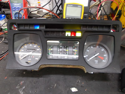 Initially only 4 warning lamps were working