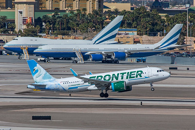 Frontier Airlines Airbus A320-251N N324FR 3-12-18