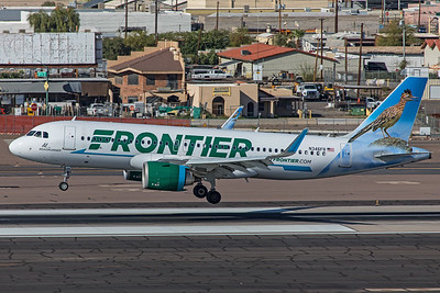 Frontier Airlines Airbus A320-251N N346FR 3-7-20