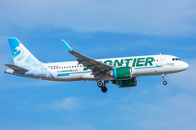 Frontier Airlines Airbus A320-251N N324FR 5-29-18