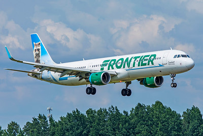 Frontier Airlines Airbus A321-211 N720FR 7-4-18